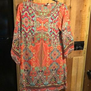 Cute paisley short dress